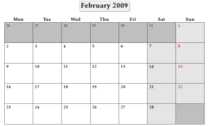 Calendario dal forum su Nabble di PGF.